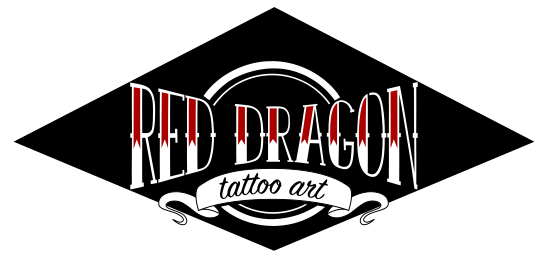 Red Dragon tattoo art